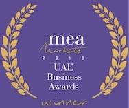 2018 MEAM UAE E Award  Winners Logo Square Template
